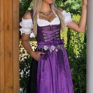 Dresses & Skirts - Oktoberfest dirndl plus size Vintage Dresses